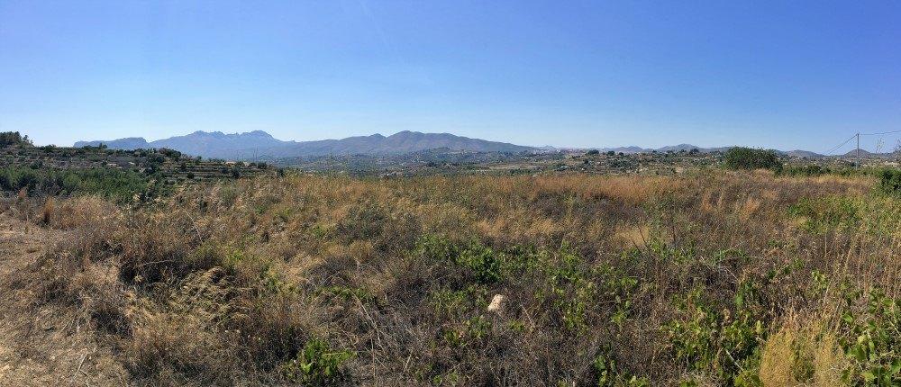 Parcelle de terrain rustique à vendre à Benissa