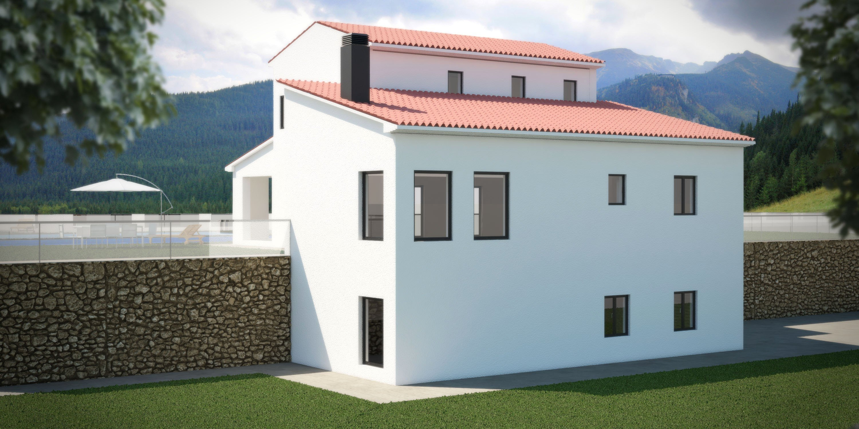 Terrain avec autorisations de construction à vendre à Benissa