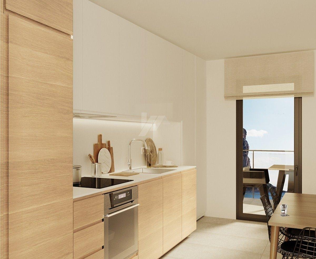 Appartement avec vue sur la mer à vendre à Calpe, Costa Blanca.