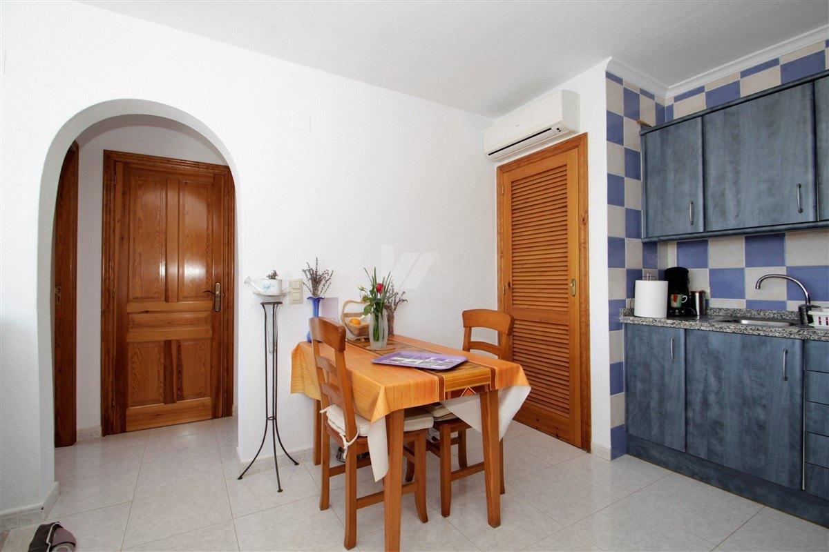 Appartement avec vue sur la mer à vendre à Benitachell, Costa Blanca.