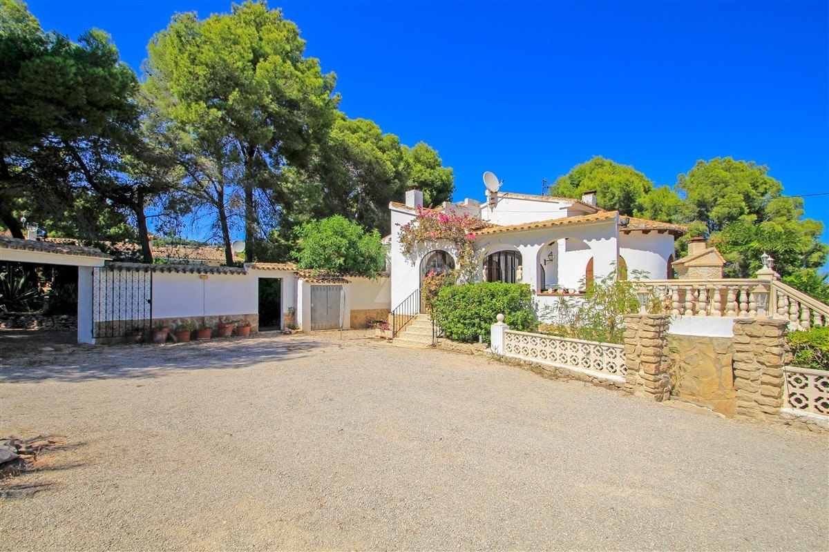 Villa à vendre à Moraira, Costa Blanca.