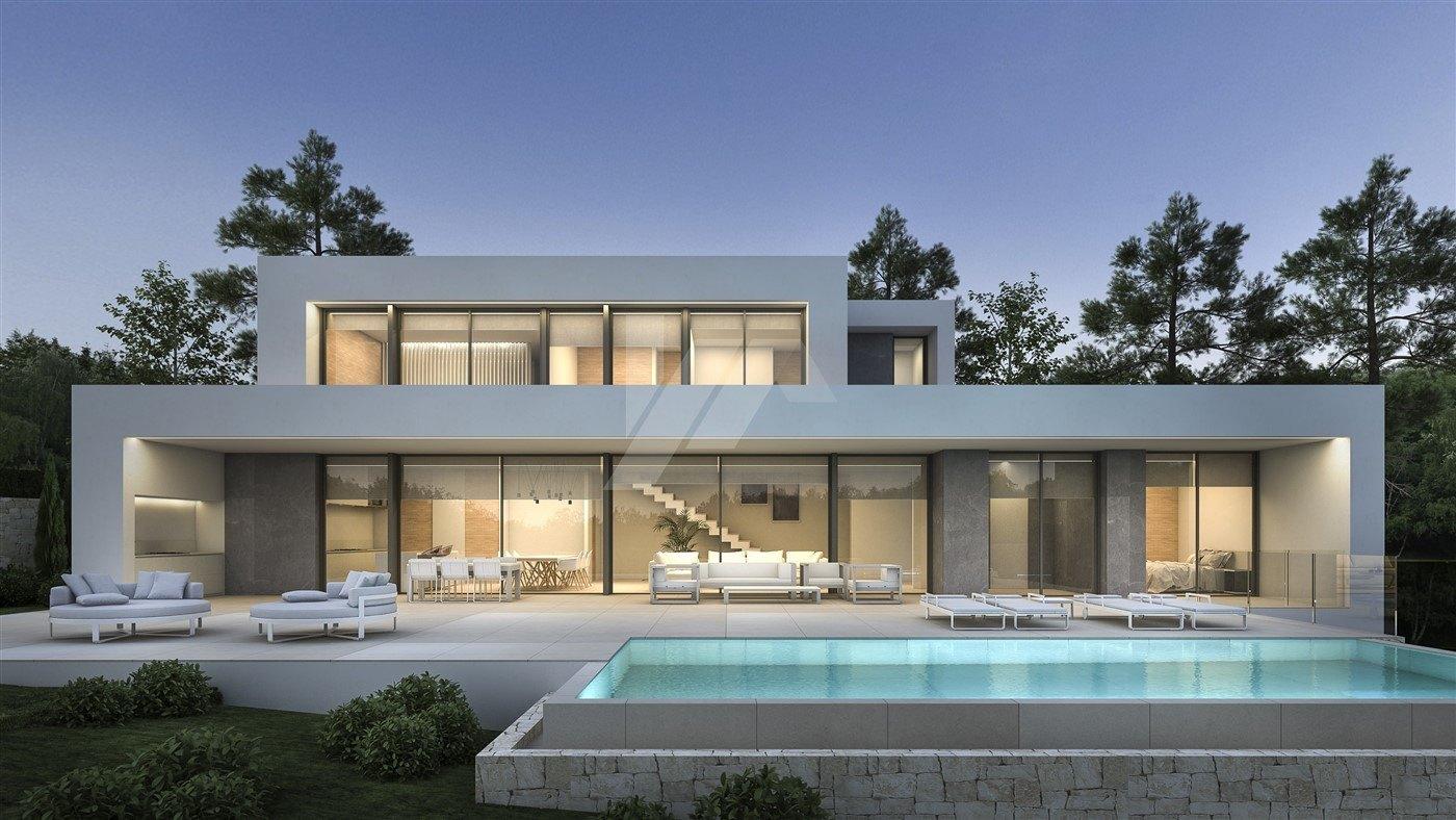 Villa vue sur la mer à vendre à Moraira, Costa Blanca.
