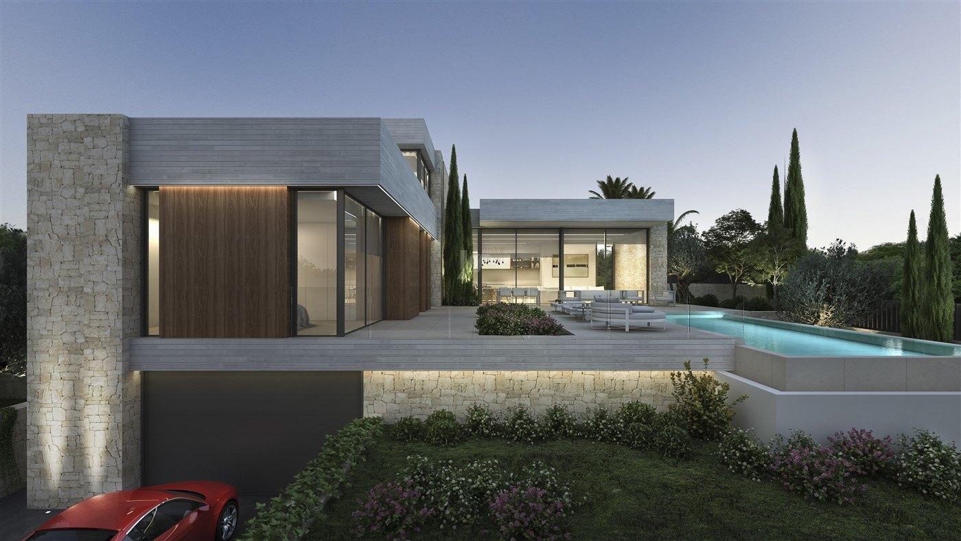Villa de construction neuve de luxe à vendre à Moraira, Costa Blanca.