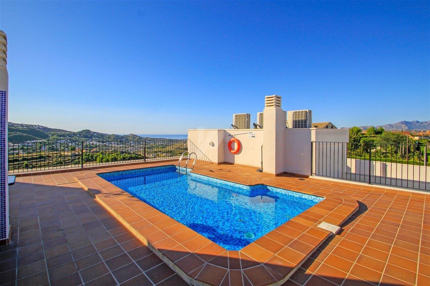 Appartement vue sur la mer à vendre à Benitachell, Costa Blanca.