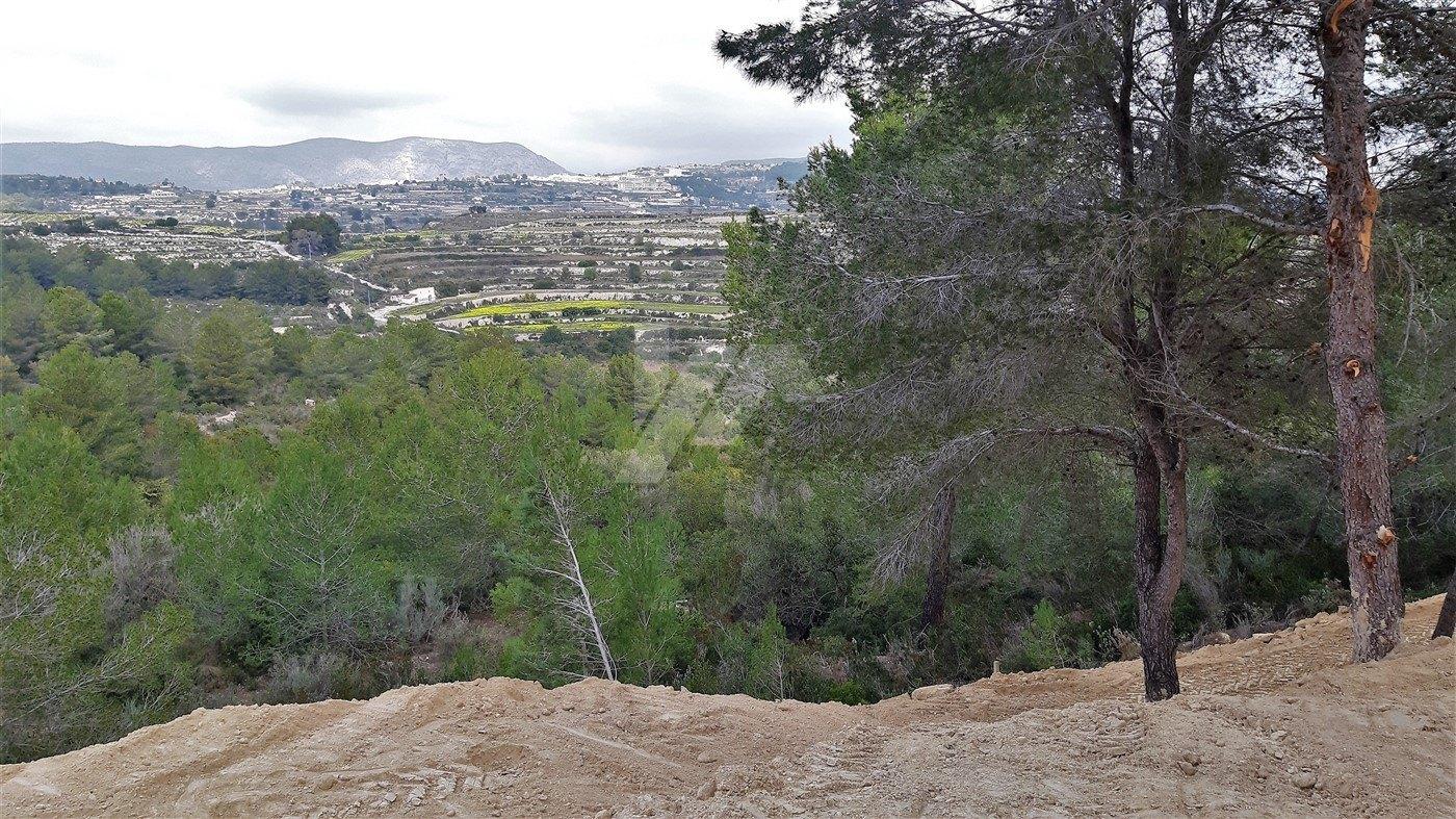 Terrain à vendre à Moraira, Costa Blanca.