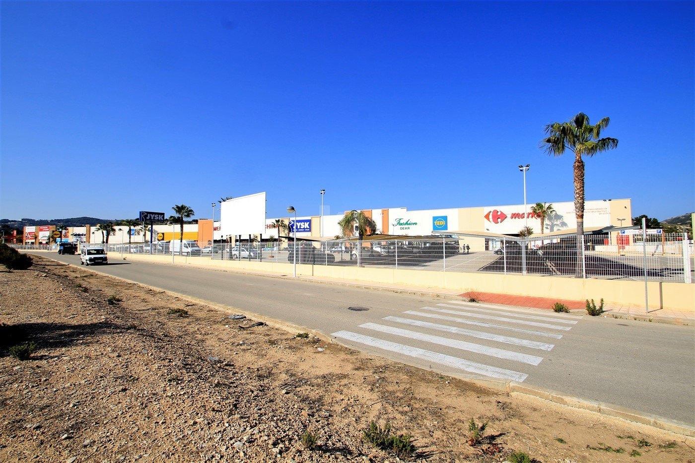 Terrain commercial à vendre à Moraira, Costa Blanca.