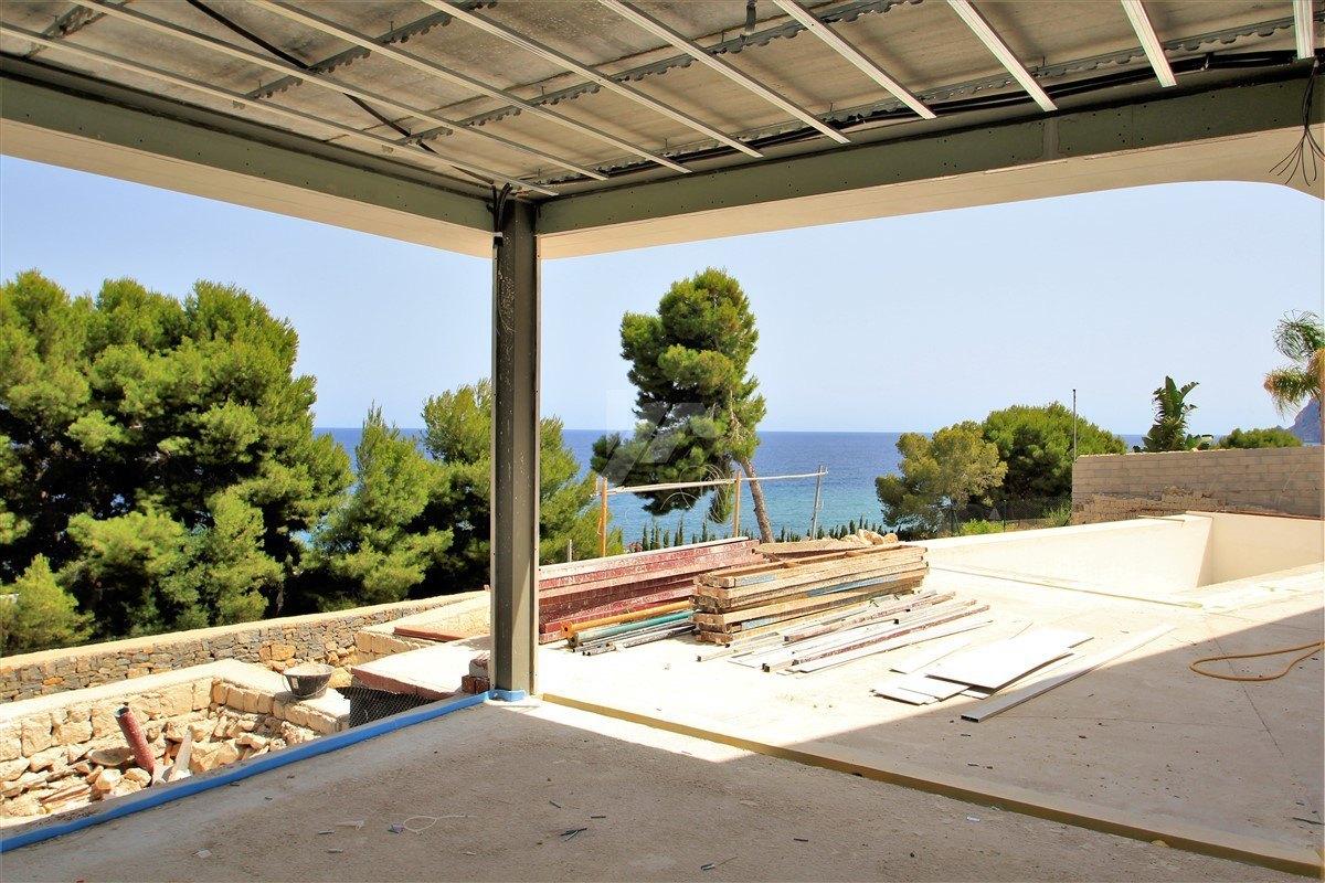 Villa vue mer à vendre à Benissa, Costa Blanca.