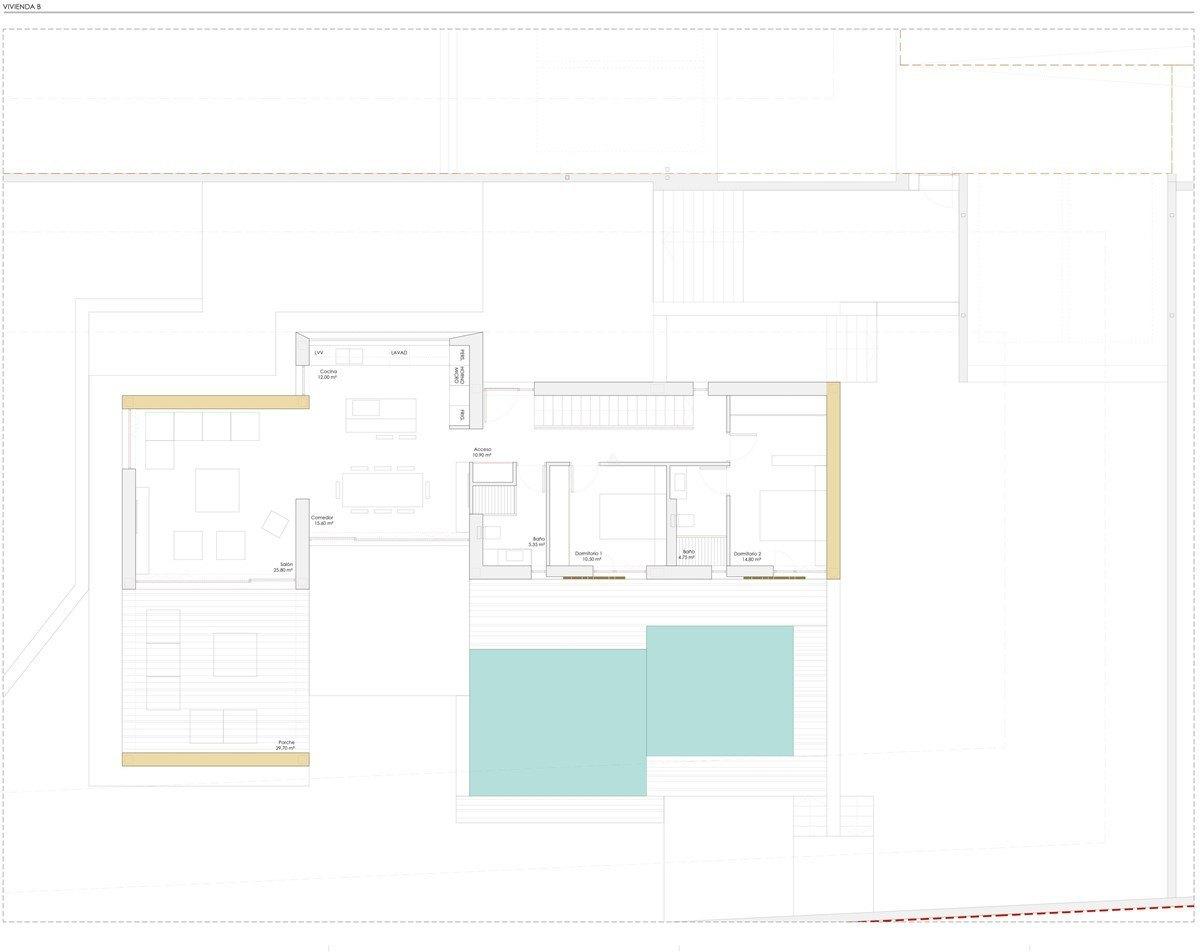 Villa de luxe de nouvelle construction à  vendre à Moraira, Costa Blanca.